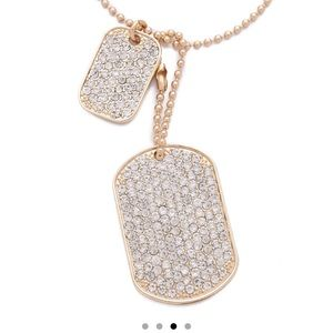 juliet and company Jewelry - NWOT 14K  Juliet and Co Diamante Crystal Necklace
